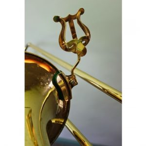 Trombone Stem, with Bell Clamp (Lacquer Finish)