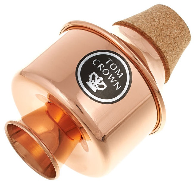 tom crown 39 wah wah 39 copper trumpet mute brass direct. Black Bedroom Furniture Sets. Home Design Ideas